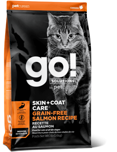 GO! CAT GRAIN FREE SALMON 3LB