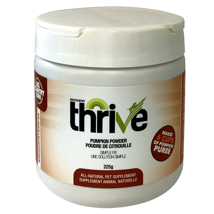 Thrive Pumpkin Powder 225g Big Country Raw