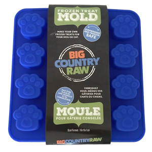 FROZEN TREAT MOLD SMALL BLUE BIG COUNTRY RAW