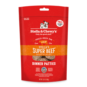 STELLA & CHEWY'S- FREEZE DRIED SUPER BEEF DINNER 5.5OZ