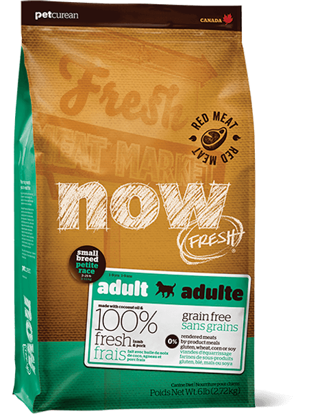 Now Fresh Grain Free Small Breed Red Meat 12lbs