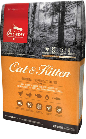 Orijen Adult Cat & Kitten 5.4kg