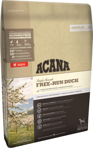 Acana Singles Free-Run Duck Dog 6kg