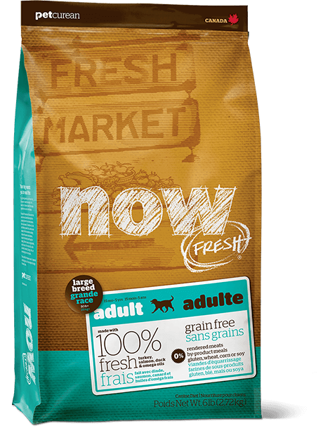 Now Fresh Grain Free Large Breed Adult 25lbs