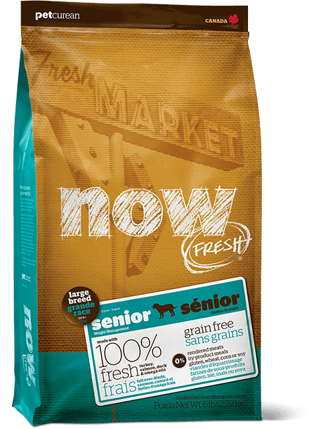 Now Fresh Grain Free Large Breed Senior 25lbs