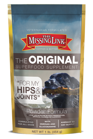 MISSING LINK - HIP & JOINT 1LB DOG SUPPLEMENT