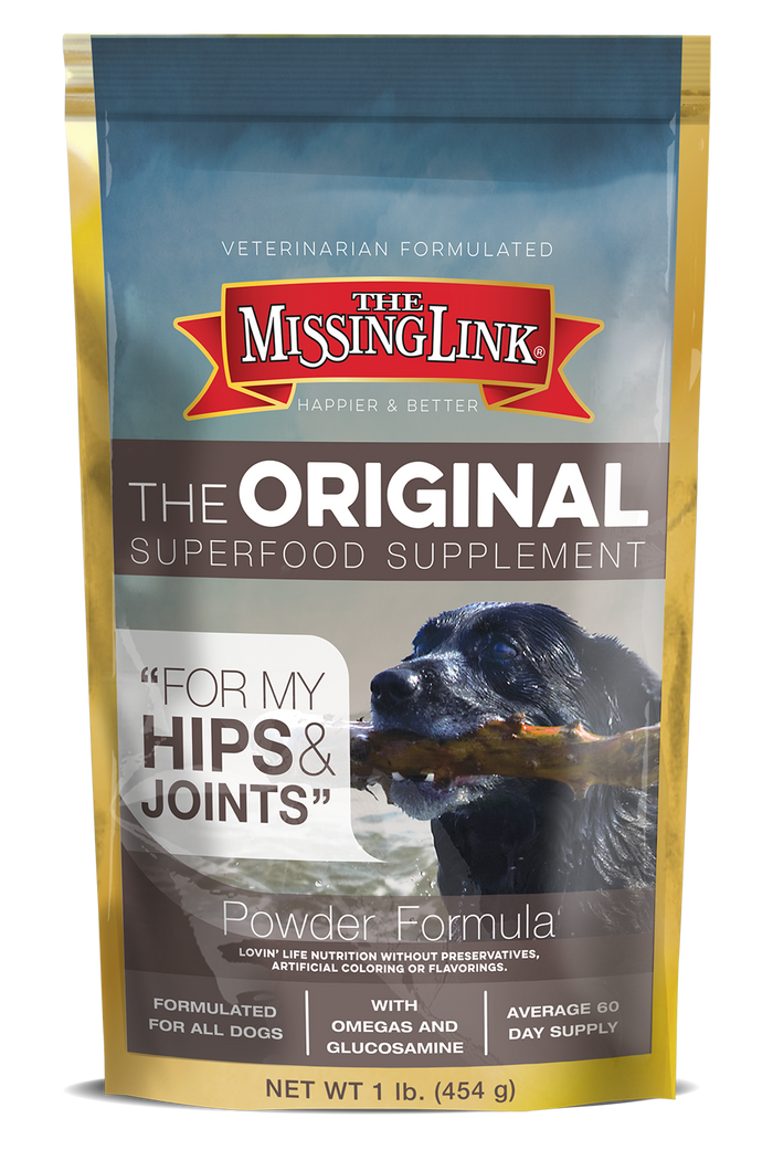 MISSING LINK HIP & JOINT 1LB DOG SUPPLEMENT