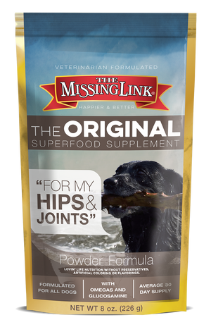 MISSING LINK - HIP & JOINT 8OZ DOG SUPPLEMENT