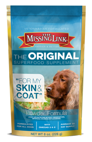 MISSING LINK - SKIN & COAT 8OZ DOG SUPPLEMENT
