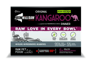 Iron Will Raw Original Kangaroo 6x1lb