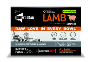 IRON WILL RAW ORIGINAL LAMB 6X1LB