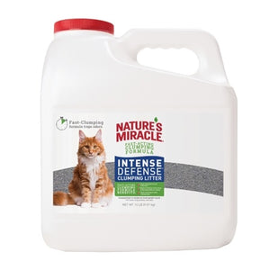 Natures Miracle Intense Defense Clumping Cat Litter 14lb Jug