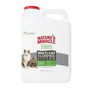 NATURES MIRACLE MULTI CAT 20 LB JUG CLU