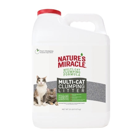 Nature's Miracle Multi Cat 20lb Jug Clumping