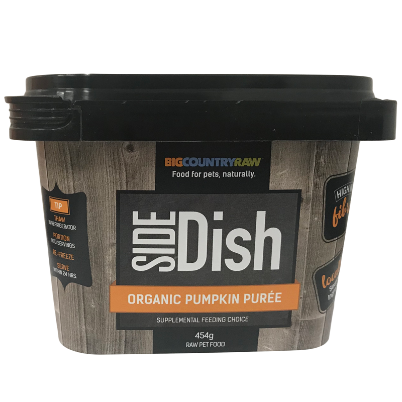 PUMPIN PUREE 1LB ORGANIC  BIG COUNTRY RAW