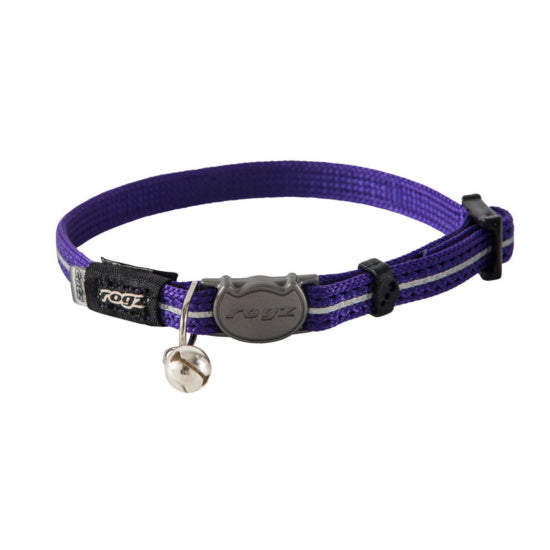 ROGZ ALLEY CAT COLLAR 8-12""
