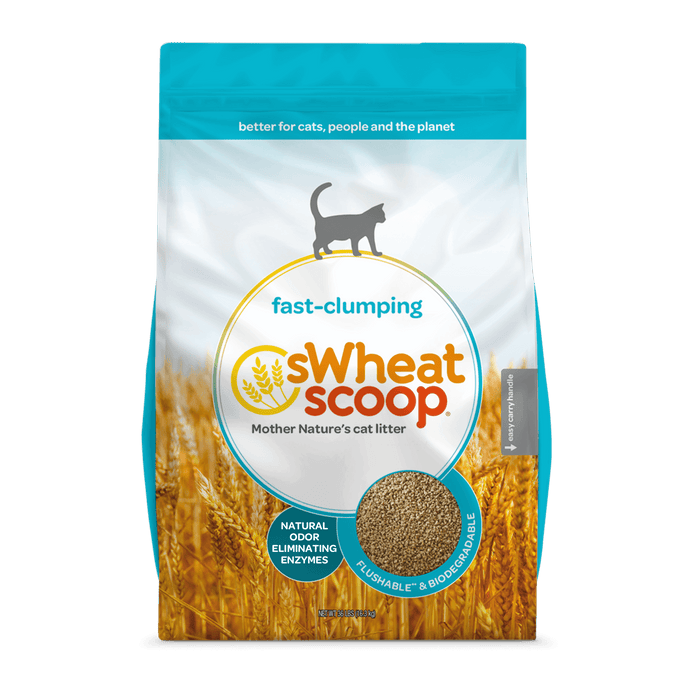 CAT LITTER-SWHEAT SCOOP CLUMP.UNSC 25lBS