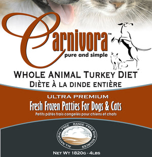 Carnivora Turkey Diet 4lb