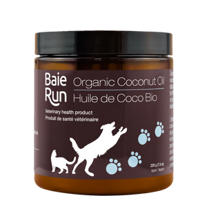 Baie Run  Coconut Oil 220g Cold Pressed Organic