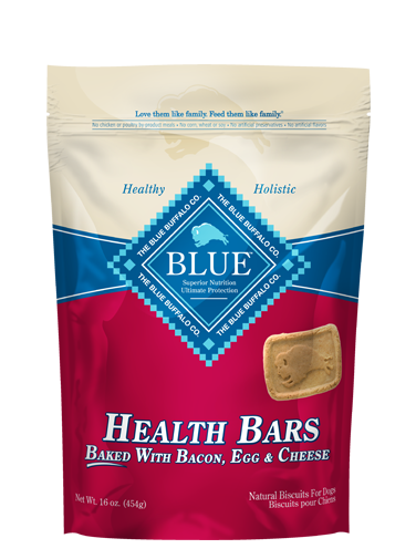 Blue Buffalo Health Bars Bacon/Egg/Cheese 16oz
