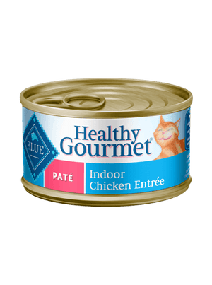 Blue Cat Can Healthy Gourmet Pate Indoor Chicken 5.5oz