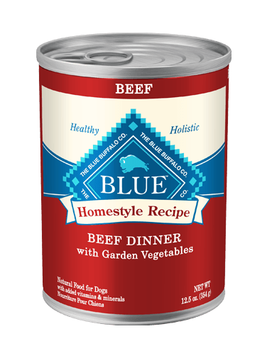 BLUE BUFFALO DOG CAN BEEF DINNER 12.5OZ