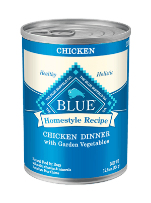 BLUE BUFFALO DOG CAN CHICKEN DINNER 12.5OZ