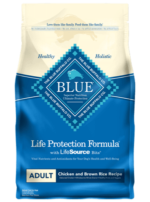 BLUE BUFFALO LP ADULT DOG CHICKEN/RICE 6LB