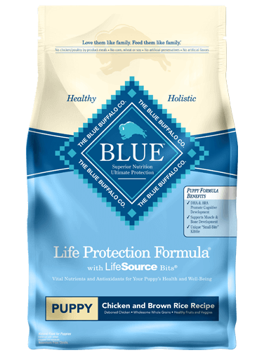 BLUE BUFFALO LP PUPPY CHICKEN/RICE 26LB