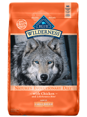 Blue Wilderness Large Breed Adult Chicken (Gold Bag) 30lbs