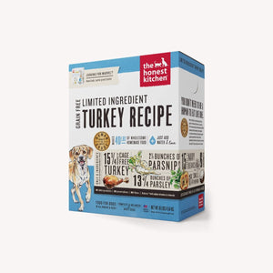 HONEST KITCHEN LID TURKEY 10LB BOX