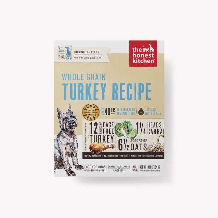 HONEST KITCHEN WHOLE GRAIN TURKEY 10LB BOX
