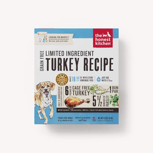 HONEST KITCHEN LID TURKEY 4LB BOX