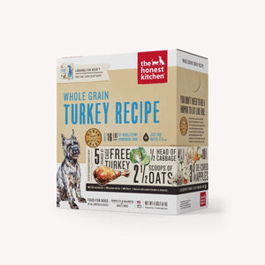 HONEST KITCHEN WHOLE GRAIN TURKEY 4LB BOX