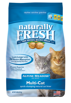 CAT LITTER (BLUE) ALPINE MEADOW 26LB