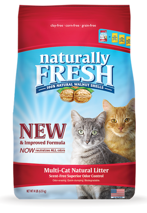 Naturally Fresh (Red) Multi Cat Litter 14lb