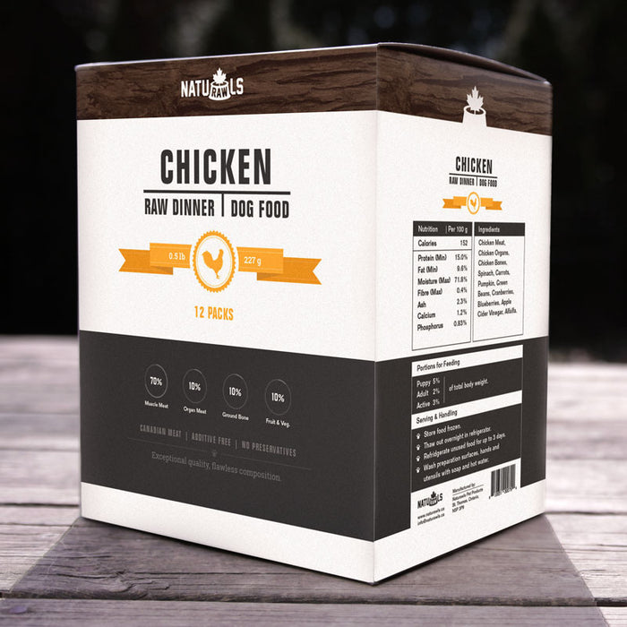CHICKEN  DINNER 8X454G NATURAWLS