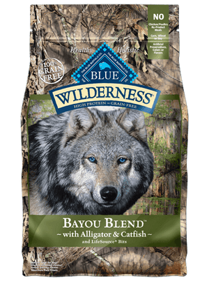 BLUE BUFFALO WILDERNESS DOG BAYOU 22LBS