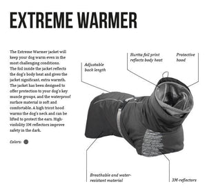 "Hurtta Extreme Warmer Granite 22""-26"""