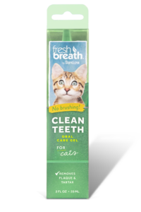 Tropiclean Cat Oral Care Clean Teeth Gel