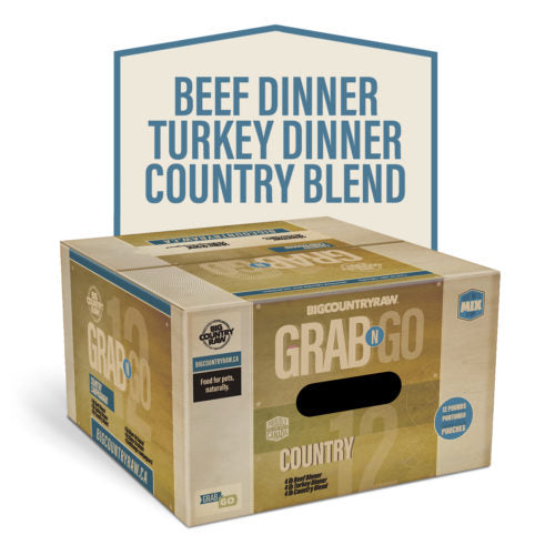 Grab N Go Country Deal  12lb Big Country Raw