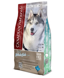 CANADIAN NATURAL DOG GRAIN FREE WHITEFISH 25LB