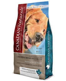 CANADIAN NATURAL DOG CHICKEN AND BROWN RICE ADULT DOG 30LB