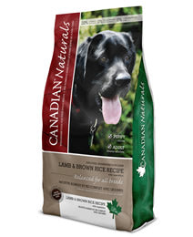 CANADIAN NATURAL DOG LAMB & BROWN RICE ADULT DOG 25lb