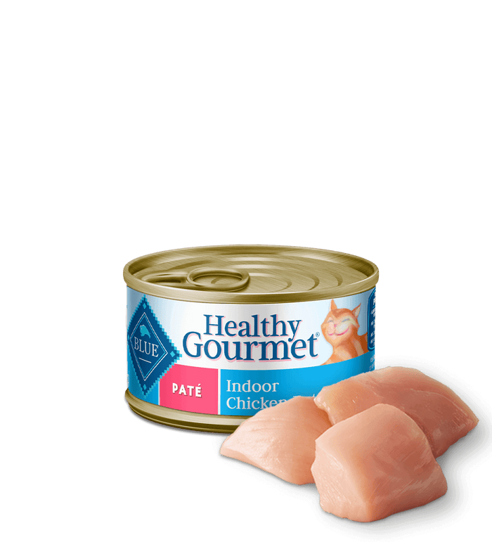 BLUE-CAT CAN HEALTHY GOURMET PATE INDOOR/CHICK 5.5