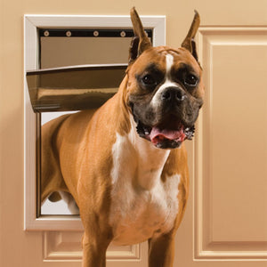 Pet Safe  Aluminum Pet Door Large