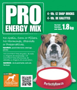 Perfectly Raw Pro Energy 16x2lbs