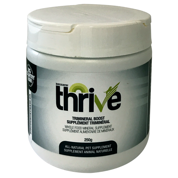 Thrive Trimineral Boost 250g Big Country Raw