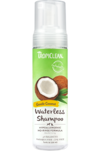 Tropiclean Hypo Allergenic Waterless Shampoo 220ml