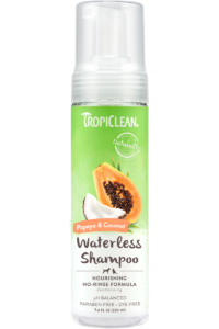 Tropiclean Waterless Papaya Shampoo 220ml
